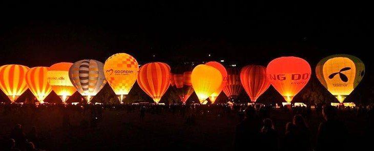 Hot air ballon event - Charlottenlund