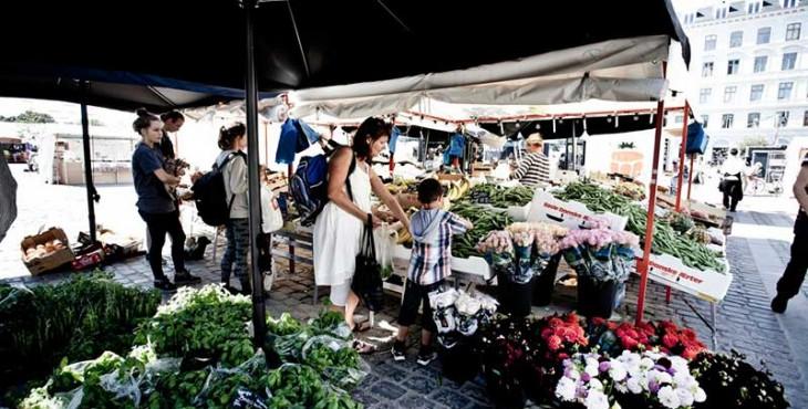 grocery stores in Copenhagen