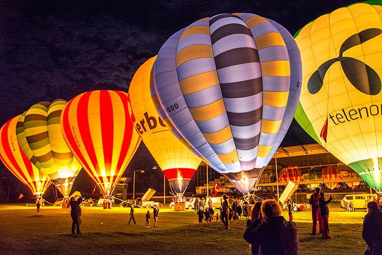 Hot air ballon event - Charlottenlund